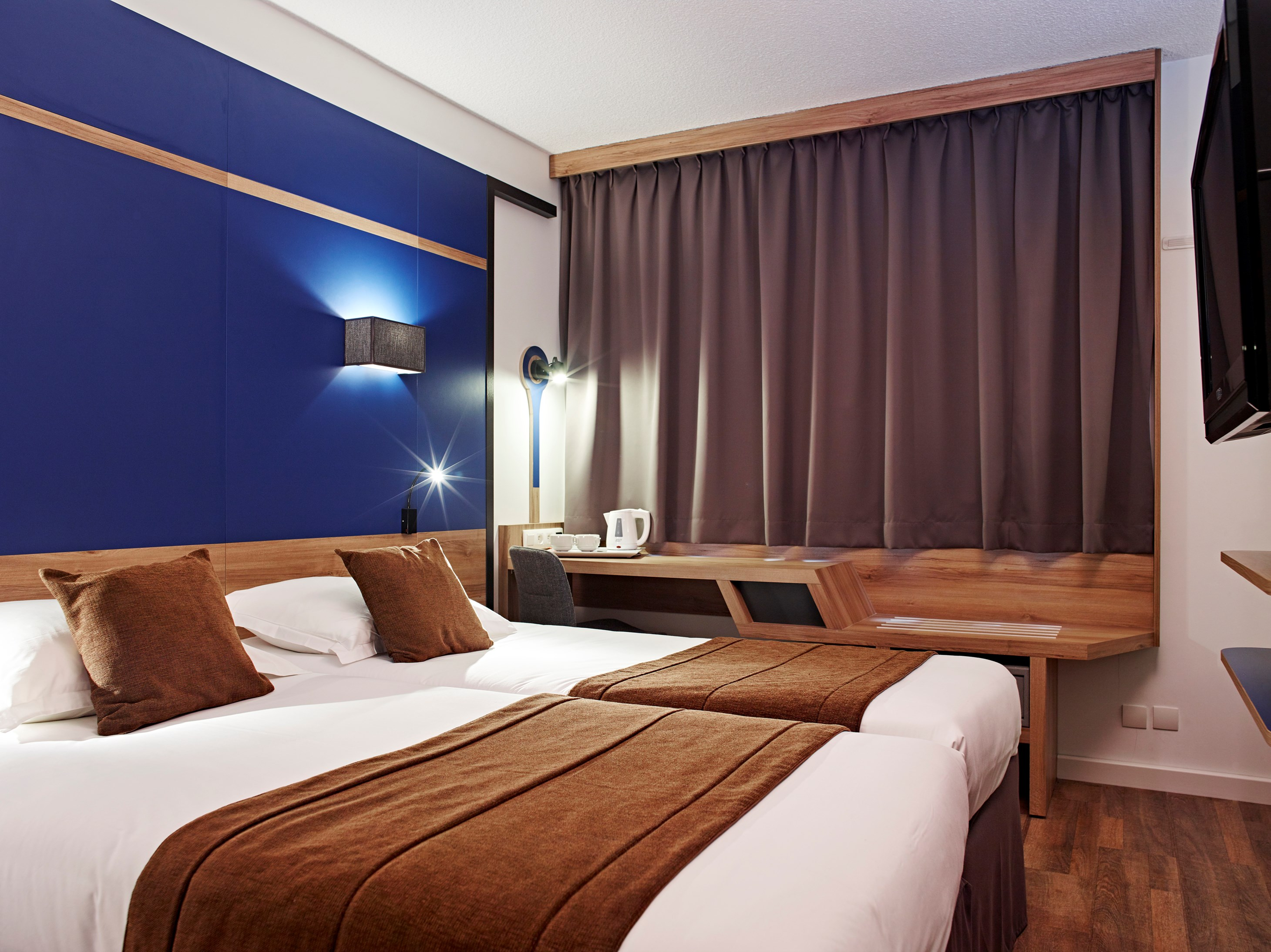 Twin Rooms Hotel Median Paris Congres